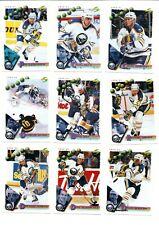 1994-95 Score Buffalo Sabres Team Set