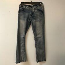 Mudd Girls 14R Adjustable Waist Blue Jeans