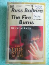 Russ Ballard - The Fire Still Burns - EMI - tape - Kassette - britischer Rock 85