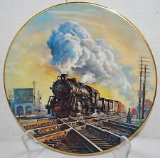 Hittin' the Diamond Ted Xaras American Steam Series B & O Ltd Ed Collector Plate