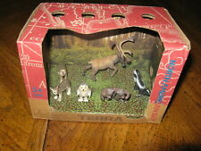 TERRA~North American Wild Animals~Forest Figures~NEW~Play Set Toys Box by BATTAT