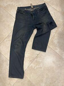 Burberry Brit 'Swaine' Button Fly 33 x 32 Jeans Men Denim