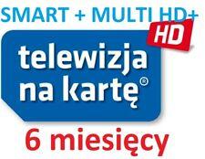 TnK, NC+, SMART+ MULTI HD+, 6M,Telewizja na karte, Aufladung, Doladowanie, TVN