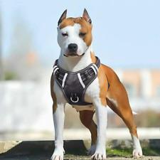 Big Dog Harness No Pull Adjustable Reflective Soft Control Pet Vest with Handle