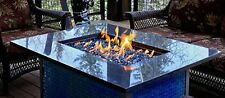 "1/4"" Reflective Fireglass Fireplace Glass Rocks Fire Pit Glass Crystals"