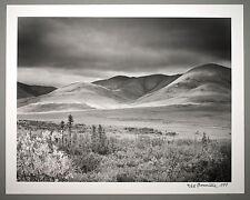 BONNIERE,16X20 SILVER GELATIN PHOTOGRAPH,S/N, DEMPSTER HIGHWAY, NWT, CANADA