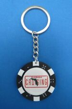 FLORIDA CRUISING POKER CHIP DICE KEYRING KEY RING CHAIN #206
