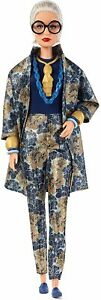 Barbie Collector Styled by Iris Apfel Doll with Floral Suit and Accessories
