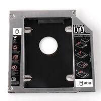 9.5mm Universal SATA 2nd HD HDD SSD Hard Drive Caddy for CD/DVD-ROM Optical Bay