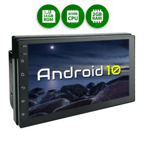 7 Inch Android 10 Car Stereo GPS Radio Player Audio 2 Din WIFI Bluetooth 2+16GB