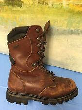 IRISH SETTER 898 Thinsulate Gore Tex Lace Up Boots- Brown Leather sz 7.5 D