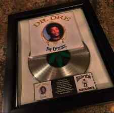 Dr Dre The Chronic Platinum Record Disc Album Music Award MTV Grammy RIAA Eminem