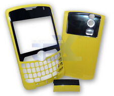 Verizon/Sprint Blackberry Curve 8330 Yellow Housing Case Cover Front/Back/Clip