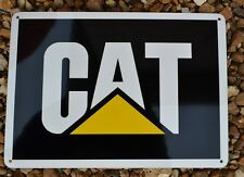 CAT CATERPILLAR Logo SIGN Garage Shop Excavator Skidsteer Mechanic SIGN 7day