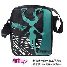 Miku Hatsune (Vocaloid) Anime étanche Sac Messenger Bag 25x29x8cm NEUF