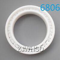 6806 Full Ceramic Zirconia Oxide Bearing ZrO2 30x 42x 7mm 61806 Self-lubricating