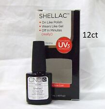 CND Shellac Gel Polish BASE COAT .42oz/12.5ml  ~ 12ct ~ Large @@SALE@@