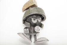 $20,000 Marvin the Martian 20ct Genuine Diamond 14k White Gold Pendant BLING