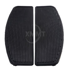 Front Rubber Rider Insert Floorboard Footboards Foot peg Pad Harley Touring Dyna