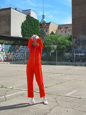 Overall onesie Big Bang Orange 70er True vintage Woman Jumpsuit 70s señora Mode