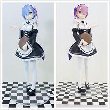Re Zero kara Hajimeru Isekai Seikatsu Ram & Rem Sega Prize PM PVC Figure No Box