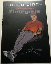 Advertising Belgium Graphic Novel Largo Winch Integrale - unposted
