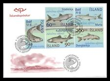 Iceland 2002 FDC, The Fauna in Thingvallavatn, Lot # 2.