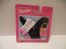 1997 Mattel Barbie Fashion Touches Accessory Set-Fishnets, Purse & Sleeves