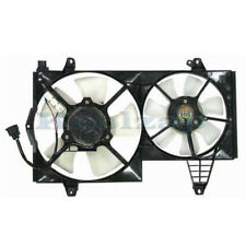 00 01 02 03 04 Volvo S40 Dual Radiator A/C Condenser Cooling Fan Motor Assembly