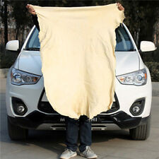 Natural Chamois Leather Car Cleaning Cloths Washing Suede Absorbent Towel  PK