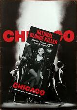 More details for chicago with jennifer ellison large glossy theatre brochure 2006 + flyer