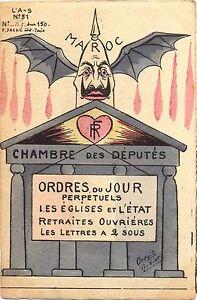 Kaiser Wilhelm, Marokko Krise, L´Actualiste Nr. 51, sign. Orens, Auflage nur 150