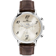 Orologio PHILIP WATCH mod. TRUMAN  ref. R8271695001 Uomo chrono in pelle marrone
