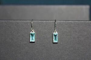 Elegant 925 Sterling Topaz Earrings