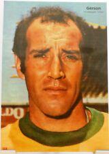 Gérson + Fußball Nationalspieler Brasilien + Fan Big Card Edition D92 +