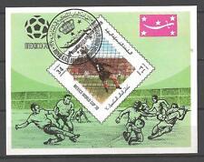 Football Yemen (24) bloc oblitéré