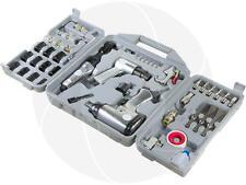50pcs Pneumatic Air Tool Set Impact Wrench Ratchet Hammer Chisel Socket Set Kit