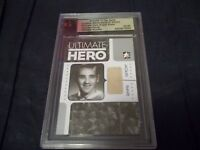 2005-06 ITG Jacques Plante Ultimate Hero Game Used Sweater with Stitching 02/20