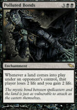 Russian Polluted Bonds ~ Near Mint Shadowmoor Foreign UltimateMTG Magic Black Ca