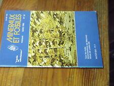 8µ? Revue Minéraux & Fossiles Guide Collectionneur n°63 Bois silicifiés Lozere