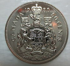 1980 CANADA 50 CENTS PROOF-LIKE COIN