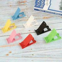 Universal Mini Foldable Cell Phone Stand Holder Random Desktop Plastic A0T2 Q8L0