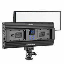 Phot-R 288 LED Dimmable Bi-Colour On Camera Video Light Panel 3200K-5600K DSLR