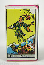 Tarot Cards Deck Arthur Edward Waite Ankh Box Pamela Smith Circa 1970 Carol Publ