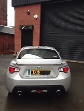 63 PLATE TOYOTA GT86 D 4SPORT SILVER PETROL - DAMAGED CAT D REPAIRABLE SALVAGE