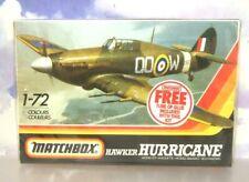 MATCHBOX 1/72 RAF HAWKER HURRICANE MKIIC 1941 PLASTIC MODEL KIT PK11 PK-11 1983