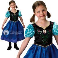 Disfraz de Carnaval Anna Versión Clásico FROZEN Original Disney Nuevo RUBIE