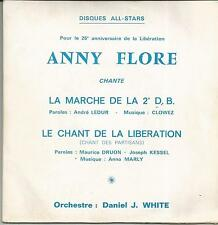 ANNY FLORE La marche de la 2e DB SINGLE ALL STARS