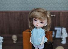 """QQ-59B   BJD Doll  *snoky* Mohair Wig 1/8( 4-5"""");1/6 (6-7"""") ; 1/4 (7-8"""")"""