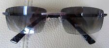Fred Sun F2 8382 Sunglasses 101 Palladium / Black / Grey 57MM